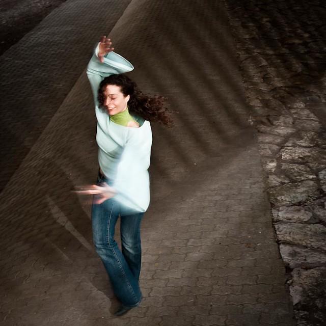 Dancing under the Bridge
