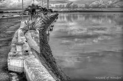 ocean road sea bw canada reflection nature vancouver clouds boats island fishing dock village bc philippines scenic palmtrees wharf cebu bogo