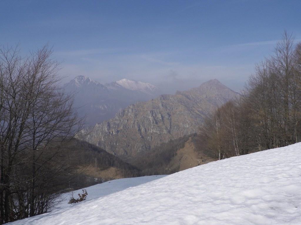 il monte Melma e le Grigne