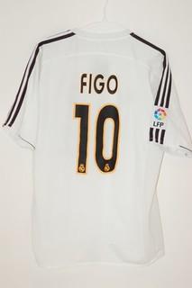 buy popular 32da1 70a21 2003/2004 Real Madrid Luis Figo Home Jersey   AJ   Flickr