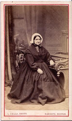 Boston Widow, English Carte de Visite, circa 1860 | by lisby1