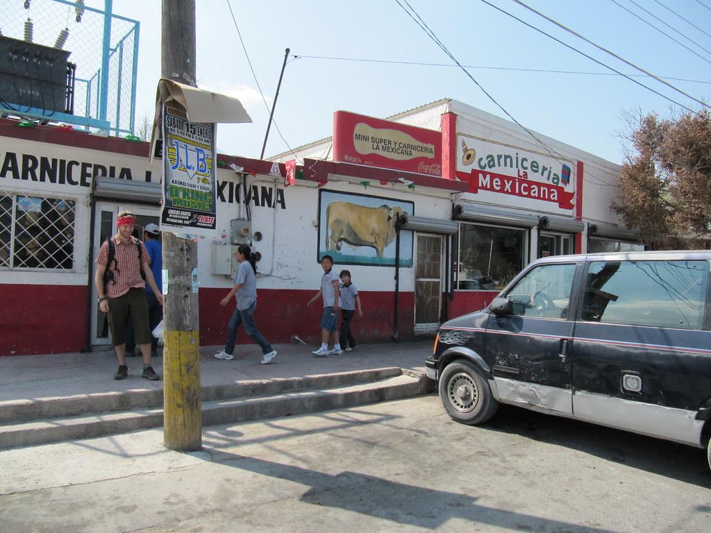 Town Of Hidalgo Nuevo Leon Mexico Carniceria La Mexica Flickr