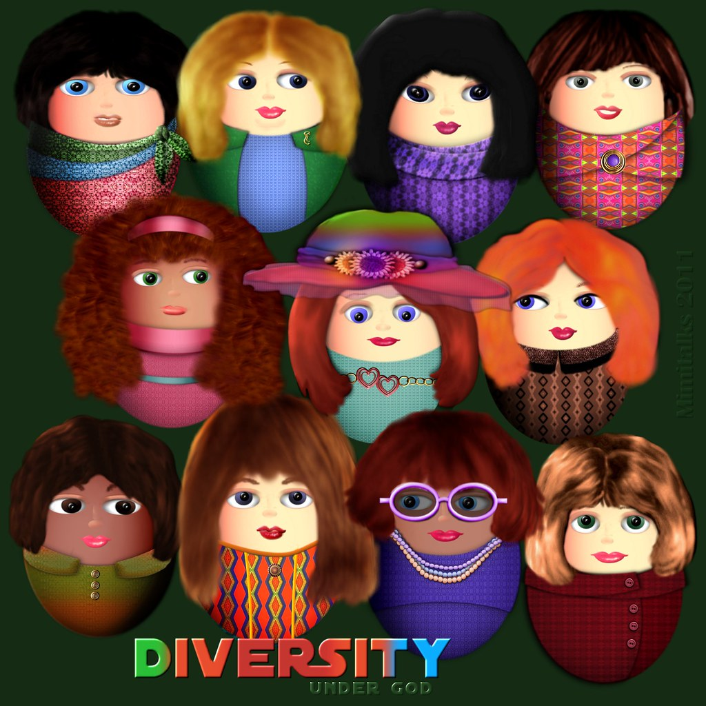 Diversity under God - by Mimitalks, inspired by events of this week