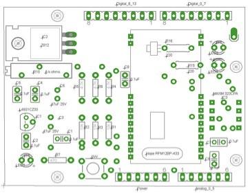 Hope RFM12BP 433MHz Wireless Arduino Shield | Posted via ema