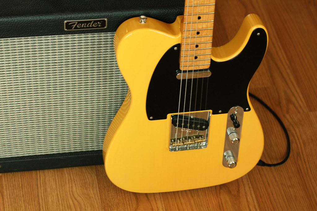 Fender Telecaster and Blues Junior Amp | Actually a Warmoth