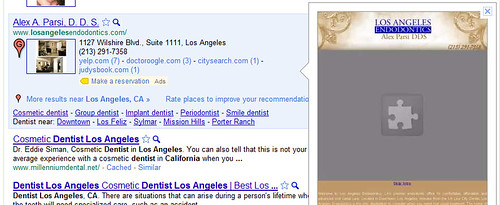 Los Angeles Dentist Website Instant Preview | by Si1very