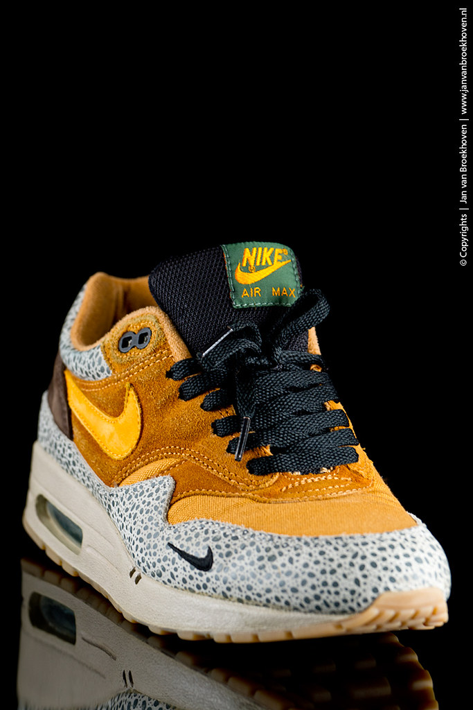 conciencia Empleado Resbaladizo  Nike Air Max 1 Safari | Nike Air Max 1 Safari With special t… | Flickr