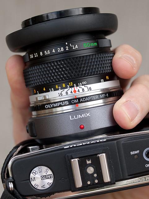 OM 50mm on E-P2
