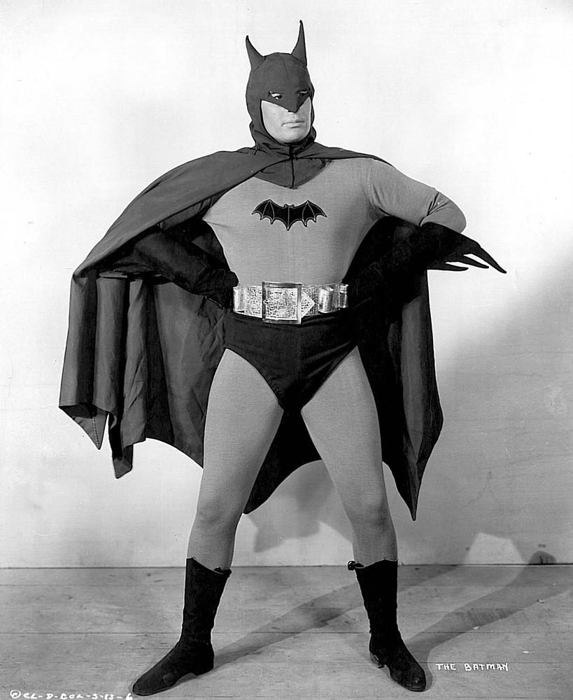 The First Batman - Lewis Wilson (1920-2000). Wikipedia: \