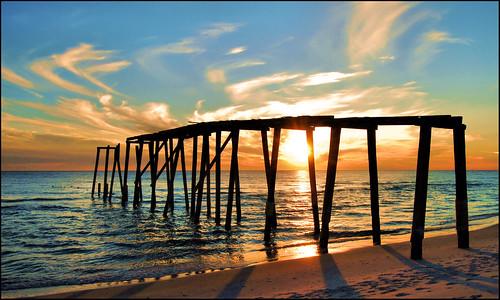 sunset gulfofmexico florida panamacitybeach floridastateparks nikond40x camphelenstatepark nikkor55200afslens me2youphotographylevel1