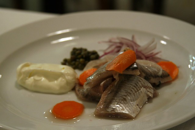 Pickeled Herring at St John, London