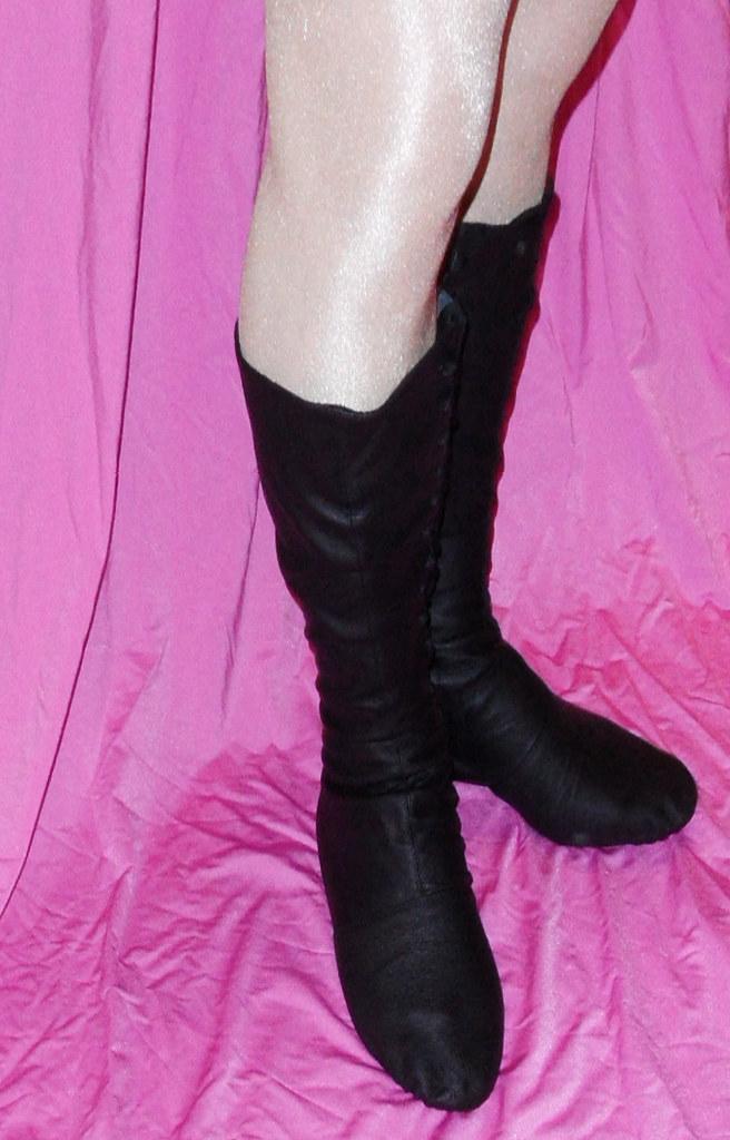 online store dfbbd 73060 Leder oder Canvas Black Ballett Stiefel | sgs24.de | Flickr