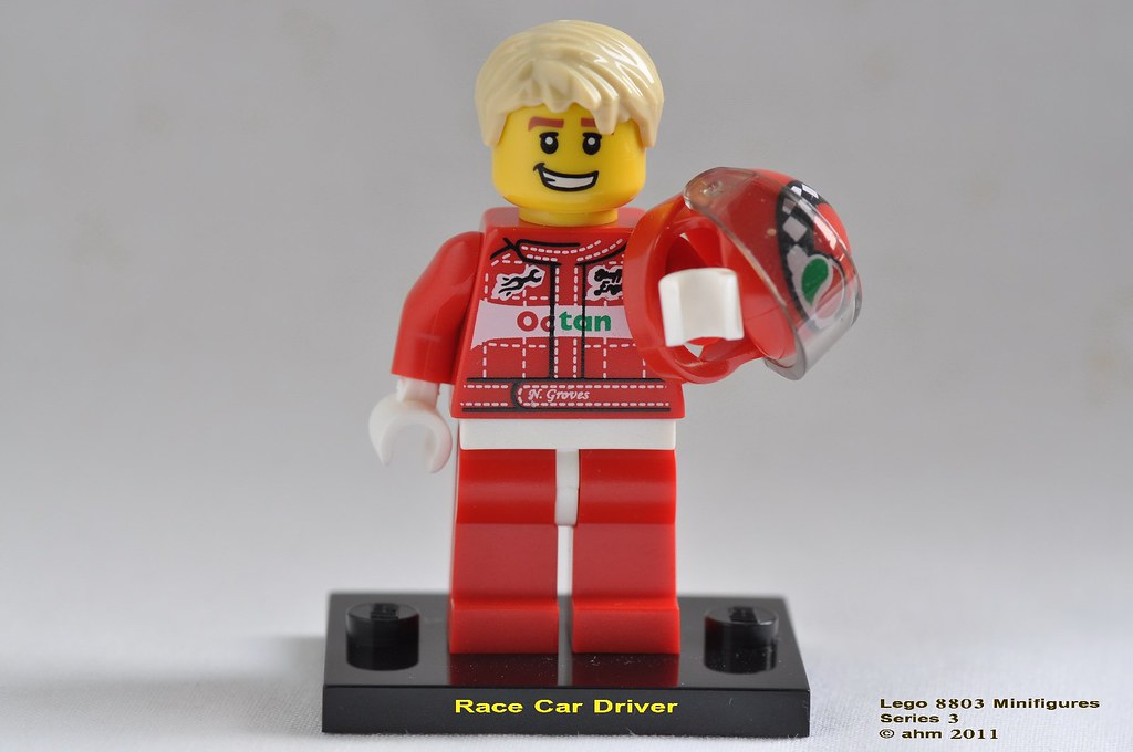 LEGO MINIFIGURES SERIES 3 8803 Race Car Driver