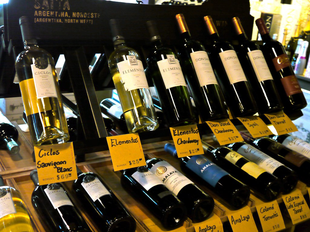 the Salta wines