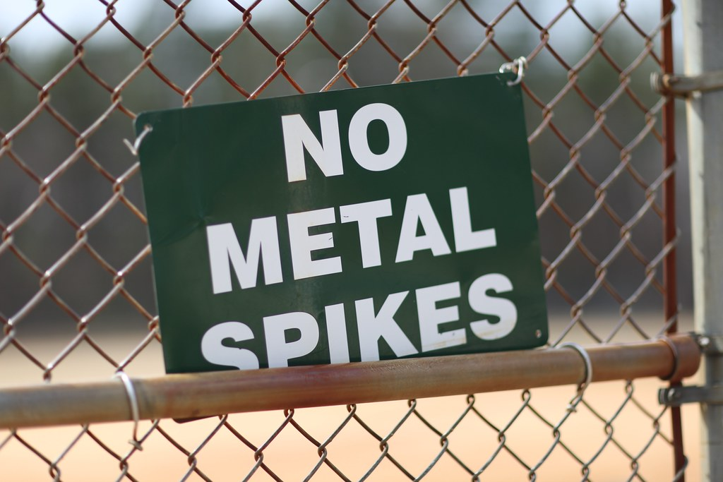 no metal spikes | Tom Woodward | Flickr