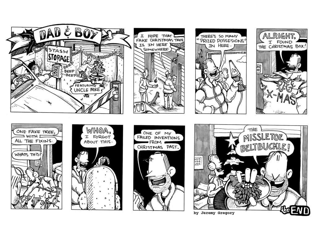 Dad & Boy Comics