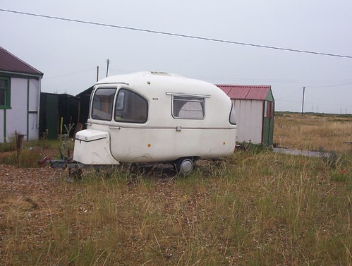 Caravan at Dungeness | by naturenet.net