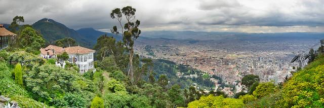 Bogota - Panoramic from Monserrate I