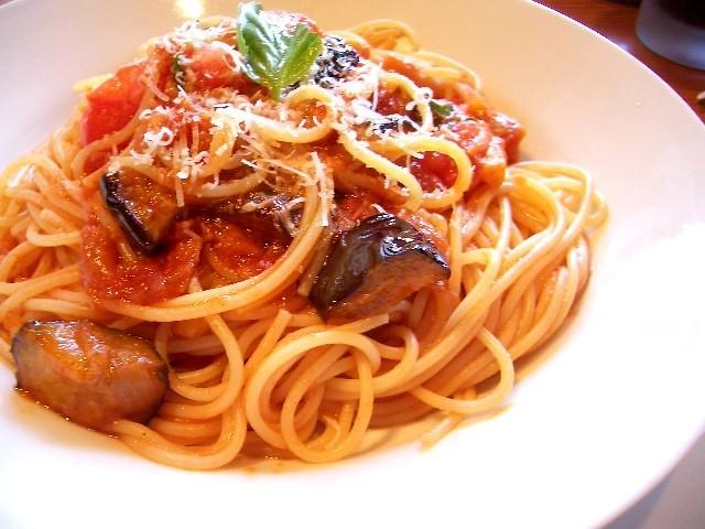 pasta   ナスとトマトのパスタ好きなんです^^   Kanko*   Flickr