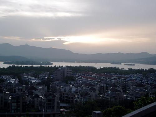 HangZhou - View from restaurant