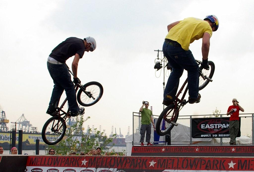 BMX beim Hafengeburtstag