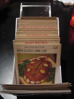 Weight Watchers Recipe Cards