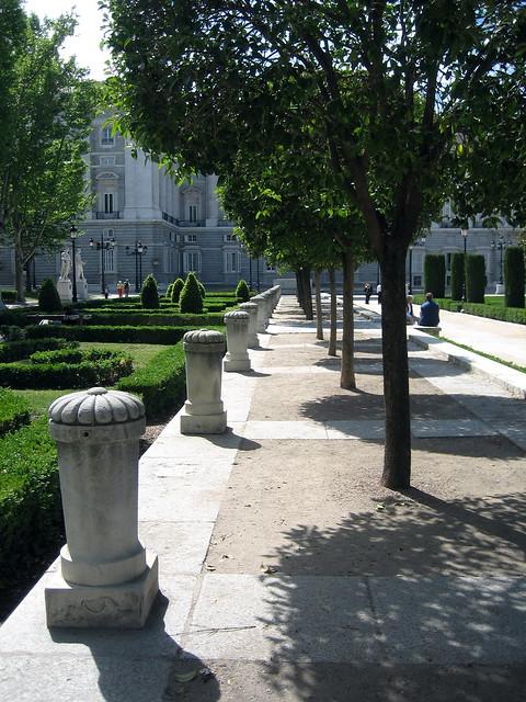 Toward the Palacio Real