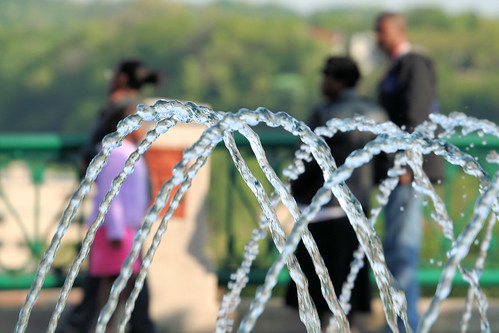 Family at the Fountain | by Sharon Mollerus