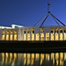 Image: Federal Parliament by Night