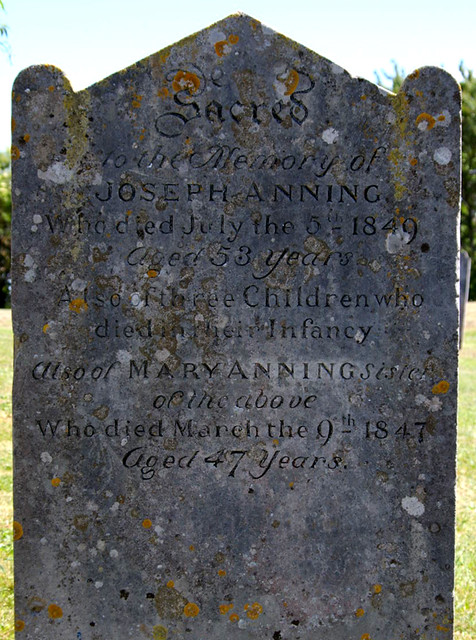 World Class Regis >> Mary Anning grave, Lyme Regis, Dorset | Probably the most fa… | Flickr