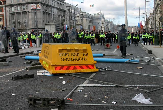 'Love Ulster' Riot, Dublin