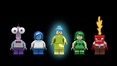 Inside Out minifigs | by Oky - Space Ranger