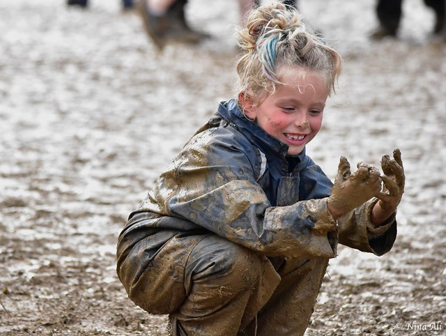 Fun in the mud at WOMAD
