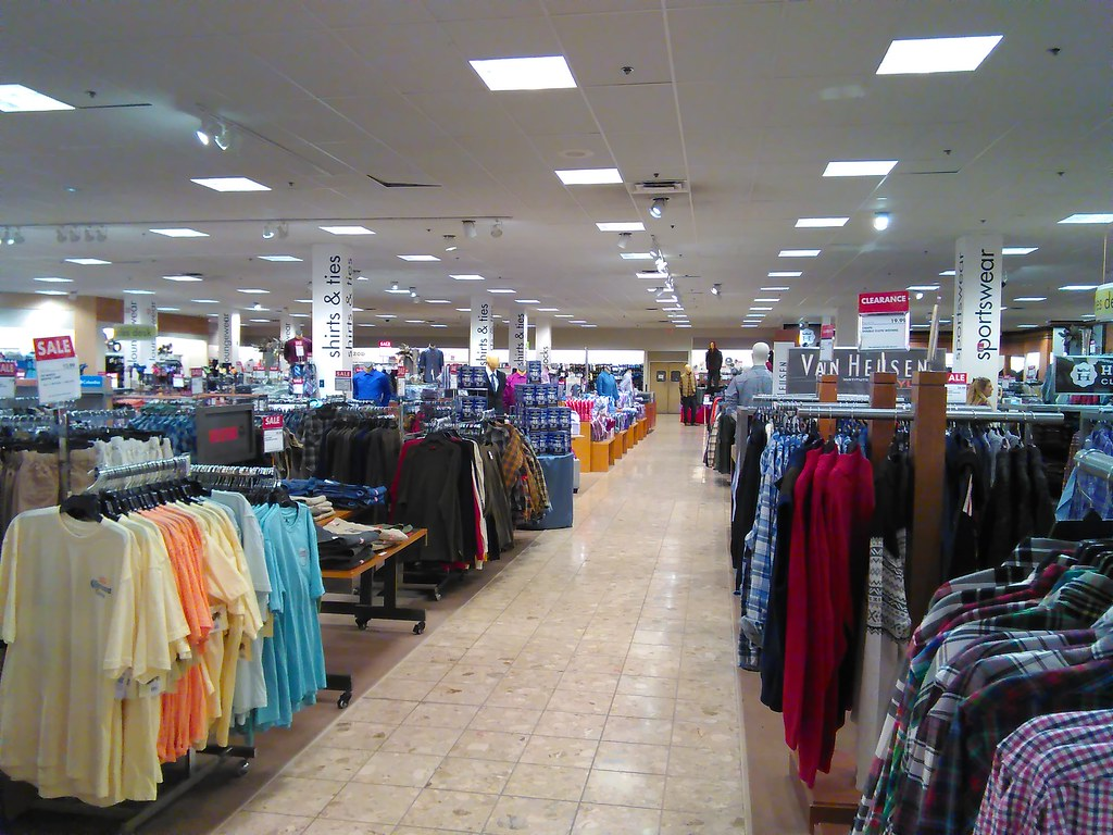 4671d8ce107 Women's Department Aisle View | A long view of the aisle fro… | Flickr