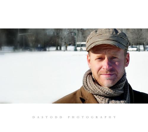 winter portrait chicago 50mm hydepark
