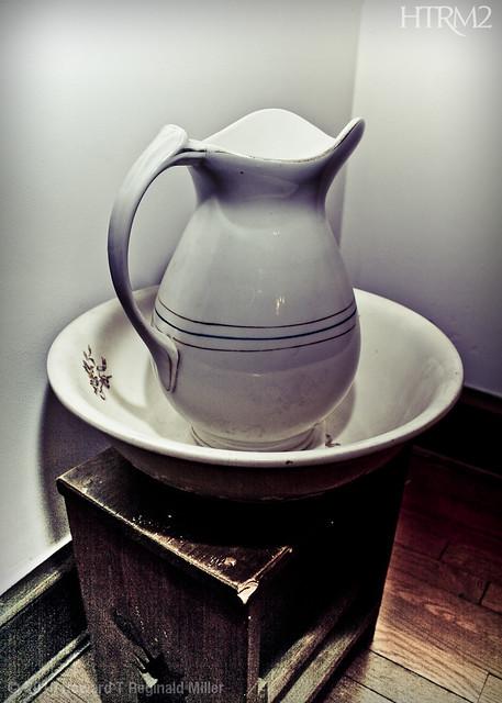 Antique Pitcher & Wash Bowl