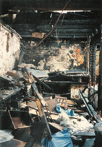 The newly kitchen burned down before it was finished... | by Yves Hanoulle