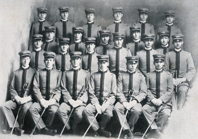 1907 Cadet Officers