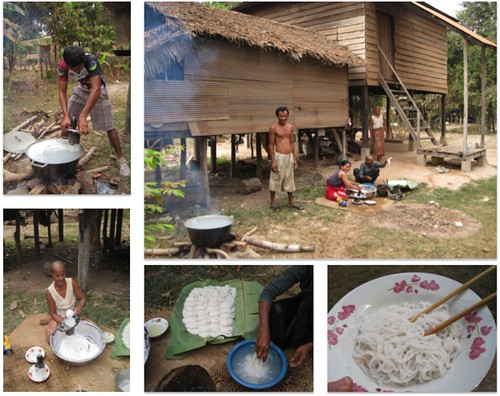 Making rice noodles | by Hannah Bedford