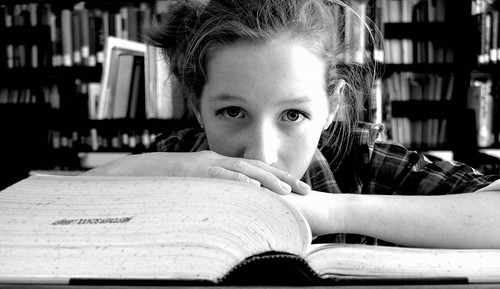 blue school white black hair eyes education connecticut library books pale blond scholar plaid andie dictionary prep