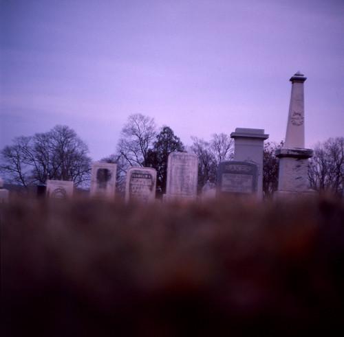 ohio tlr film cemetery square diy freestyle kodak zombie slide graves 64 127 mount undead medium format process expired tombstones vernon ektachrome e6 44 develop arista braaaaains ricohmatic