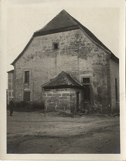 Photographs From a Haas Family Vacation to Bavaria, Germany: Reckendorf, Synagogue Exteriors (circa 1911)