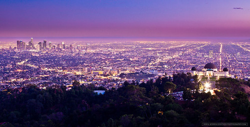 california ca city longexposure sunset urban skyline night canon landscape photography la losangeles downtown joshua explore observatory 5d griffith gunther mkii