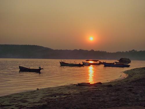 sea india beach sunrise sand goa hdr flickrunitedaward