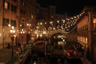 Venetian Gondolas, Mediterranean Harbor, Tokyo DisneySea   by e_chaya