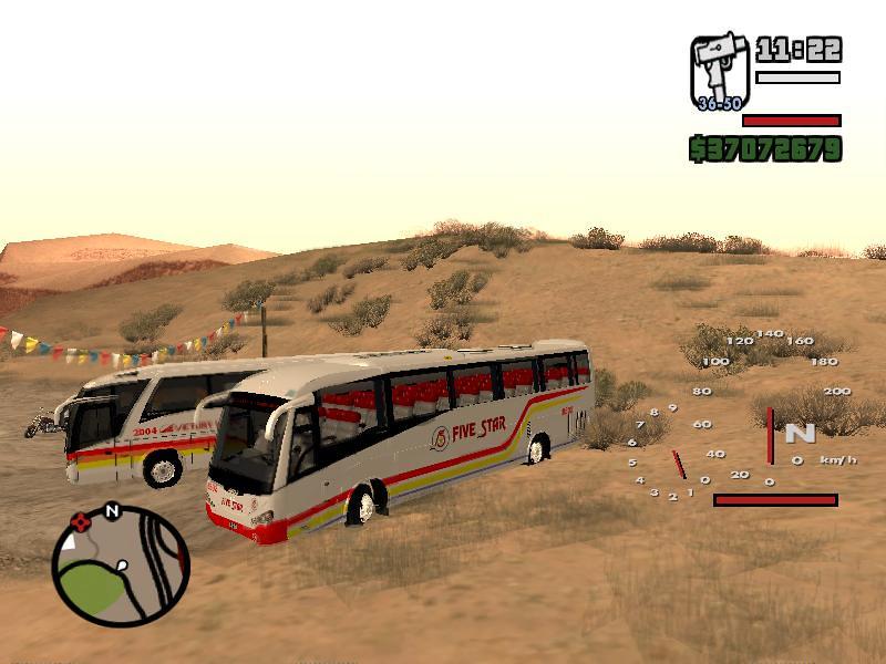 GTA San Andreas Philippine Bus mod