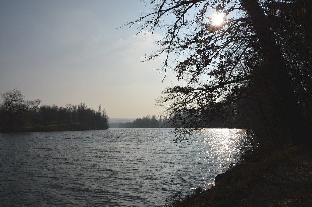 View of River Aar towards Solothurn