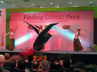Thailand International Furniture Fair 2011 opening ceremony