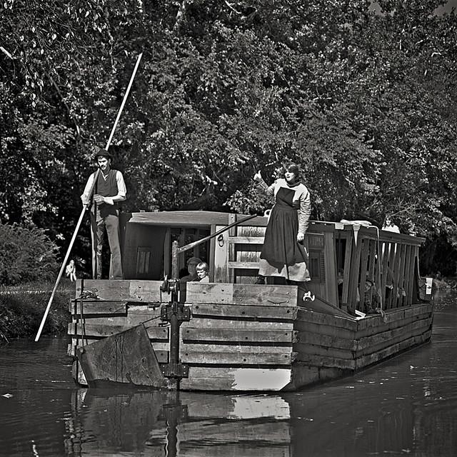 The Clipper Barge, Cheasapeake & Ohio Canal, Georgetown, Washington, DC