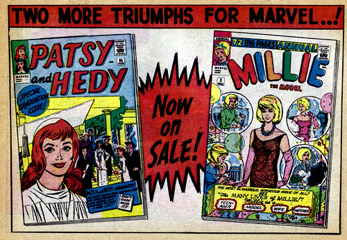 Vintage Ad #1,460: Two More Triumphs From Marvel | by jbcurio